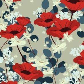 Gardenia Floral - Sand