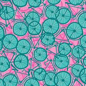 Summer Cycle teal