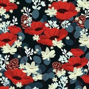 Gardenia Floral V02 - Dark