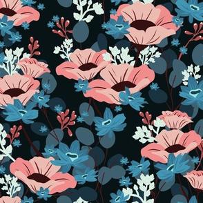 Gardenia Floral V03 - Dark