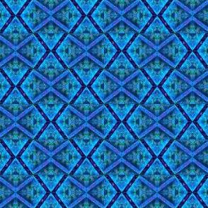 Blue Rose Grid