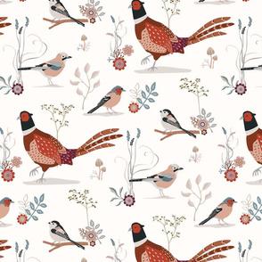 Late Autumn Birds