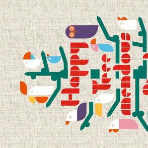 Happy Tree-mendous Bird-day