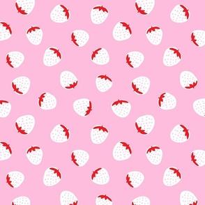 Strawberry Fields Pink Reverse