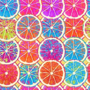 "Pop Art Citrus -18"""