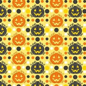 Jack o Lanterns Orange/Black