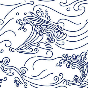 Rolling  Waves - large