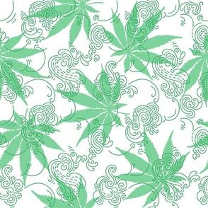 Cannabis, Hemp, or Marihuana leaves
