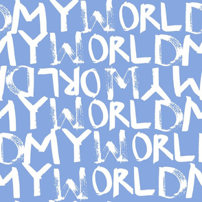 My World in Periwinkle