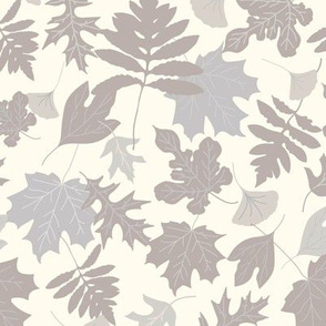 Autumn Leaves - Neutrals