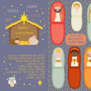 Panel Nativity Quiet Bag