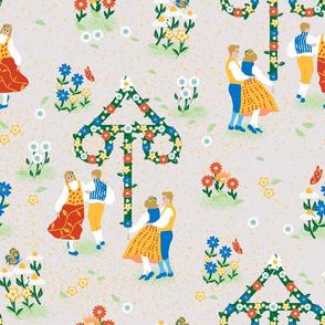 Midsummer Maypole Dance