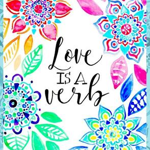 Love is a Verb - Vertical