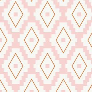 Boho Aztec | Pink