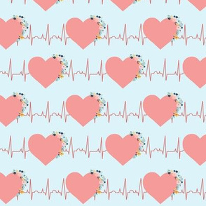 Hearts and Flowers EKG