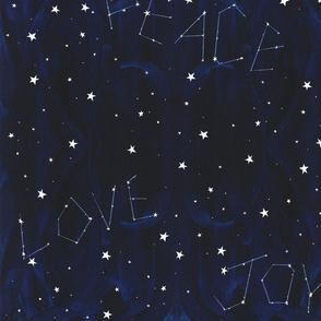 Peace Love Joy in the Stars