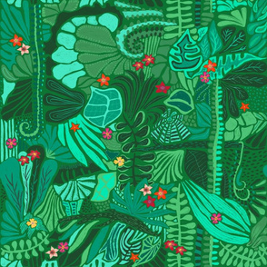 Tropical Forest Green