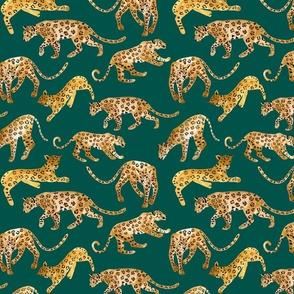 Handpainted Jaguars Jade
