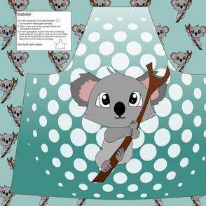 Cut & Sew - Apron Koala
