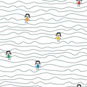Doodle Stick Girls
