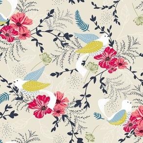 Chrysanthe Blossom Garden-Tropical