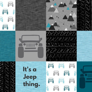 It's a Jeep thing - teal