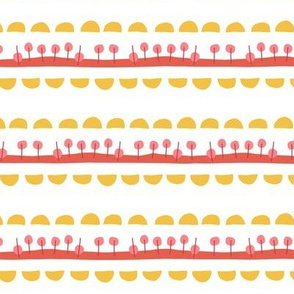 Mod Art Stripes