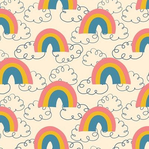 Cute Clouds and Rainbows