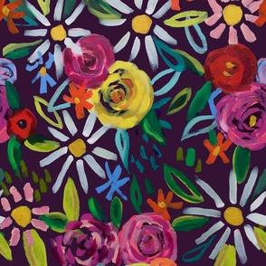 Splendid Blooms // Dark Purple