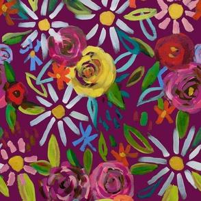 Splendid Blooms // Raspberry