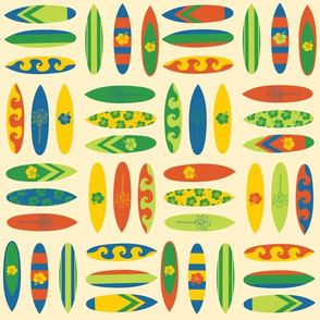 Surfboards Collage
