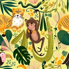 Jungle pattern 2