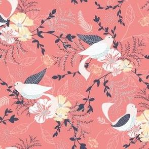 Chrysanthe Blossom Garden-Pretty Pink