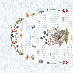 2020 calendar tea towel - The Botanist