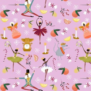 Nutcracker Ballet in Lavender