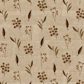 Prairie Ditsy Antique Brown