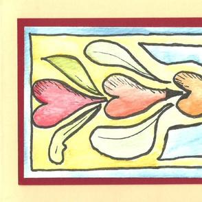 folk art hearts 1
