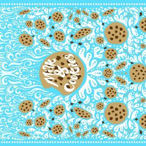 Milk and Cookies Tea Towel