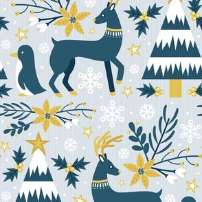 Winter Forest (Gold)