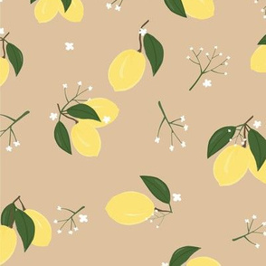 Lemons Zest Taupe