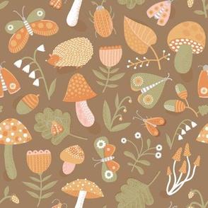 Hello, autumn! (brown version)