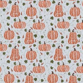 Small Stitched Pumpkins