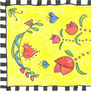 fold art colored pencil 001 (2)