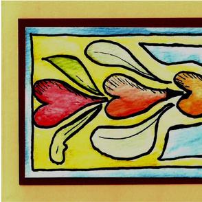 Folk art Feelings in the Heart