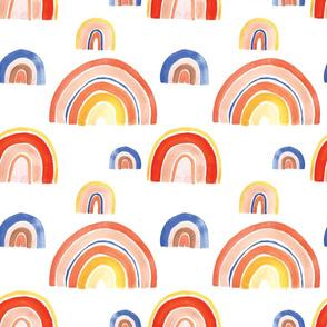 Desert Colors Rainbows