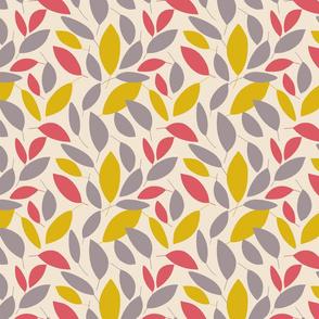 Leaves #1 - Cream