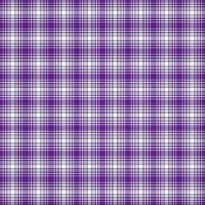 Purple Small Scale Plaid