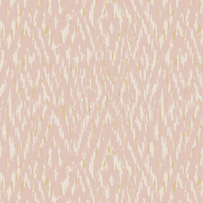 Diamond Ikat Texture- Blush