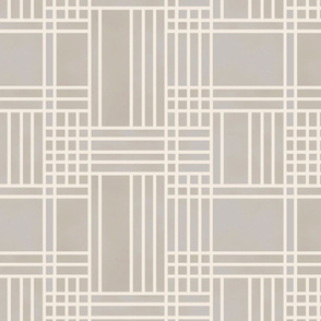 Block Patchwork- Neutral
