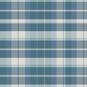 Blue and Navy Plaid